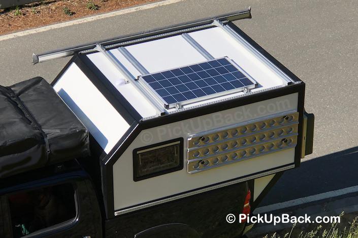 Toyota Hilux Wohnkabine Solardach
