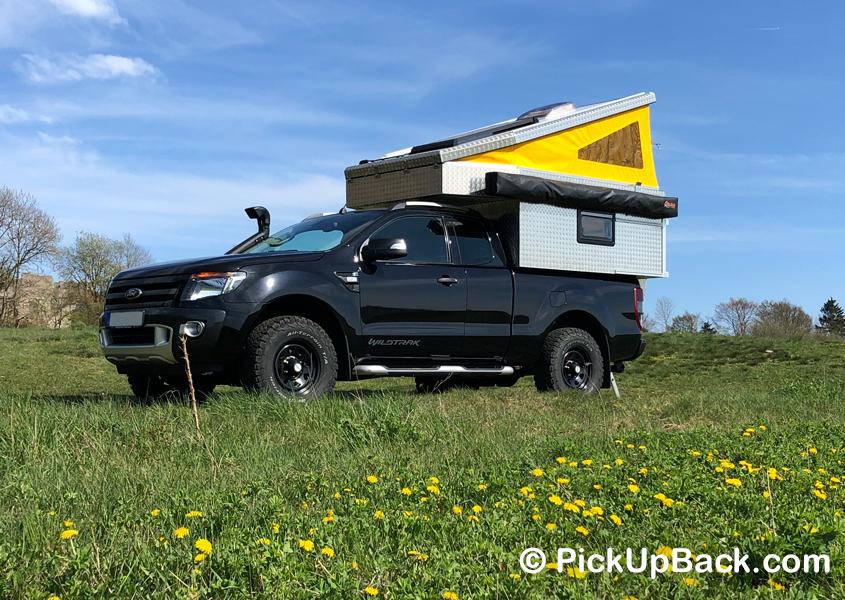 Ford Ranger Wohnkabine Hardtop Camper
