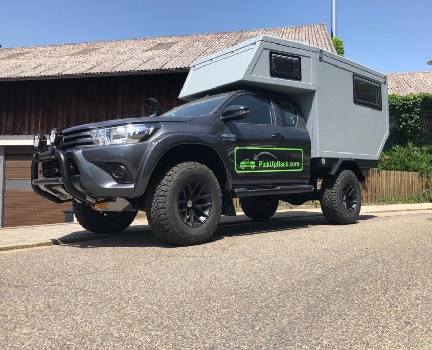 Toyota Hilux Wohnkabine Arctic Trucks