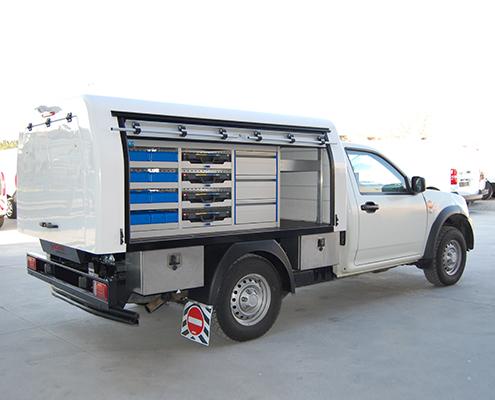 Fahrzeugeinrichtung Pickup