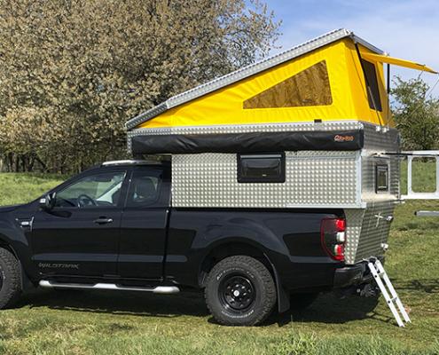 Absetzkabine Hardtop Camper