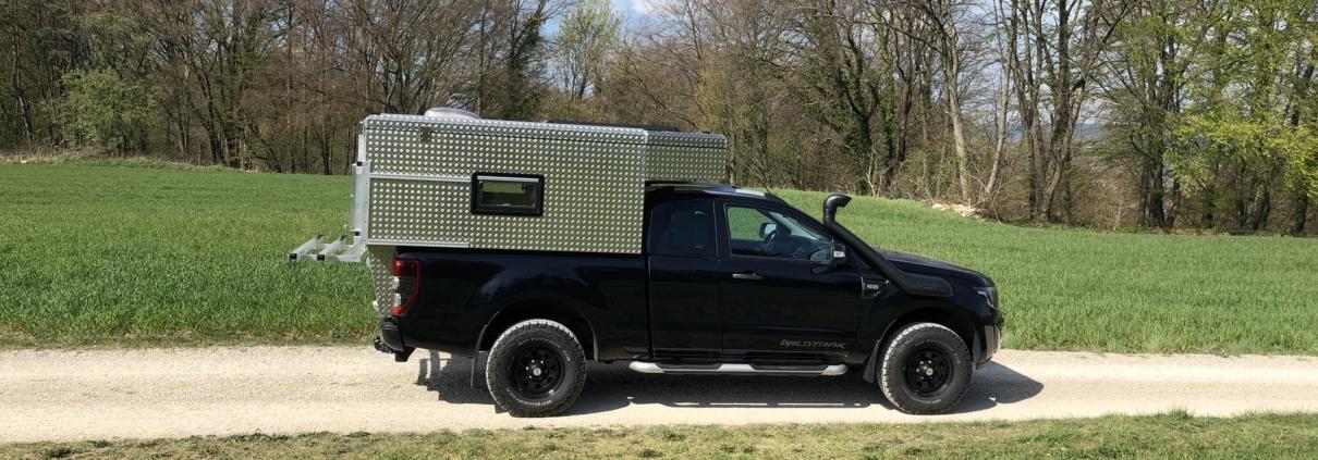 Ford Ranger Extracab Wohnkabine