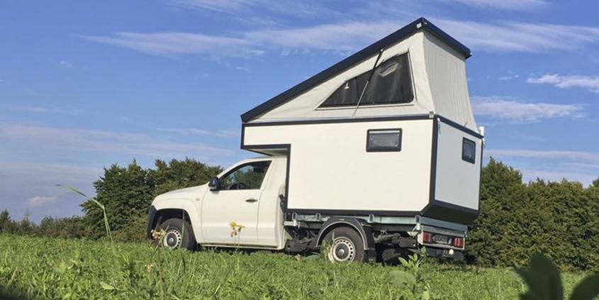 Amarok Wohnkabine mit Popup Dach
