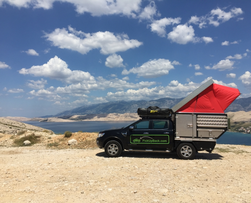 Ford Ranger Doublecab Wohnkabine mit Faltdach