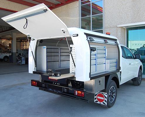 Hardtop mit Ladeboden Fiat Fullback
