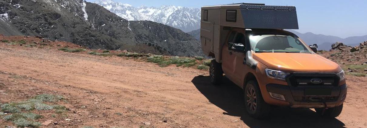 Ford Ranger Expeditionsfahrzeug Wohnkabine