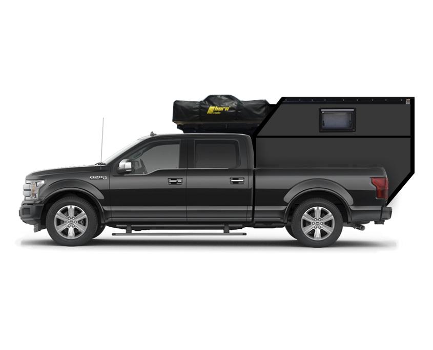 Ford F150 Camper mit Dachzelt