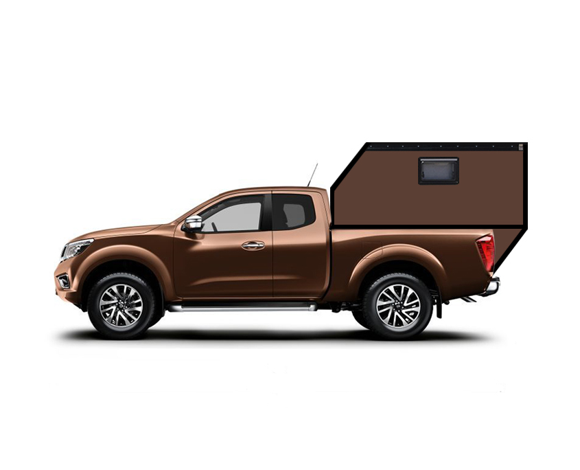 Nissan Navara Extracab Hardtop Camper Wohnkabine
