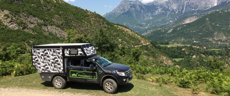 Expeditionsfahrzeug Ford Ranger Wohnkabine