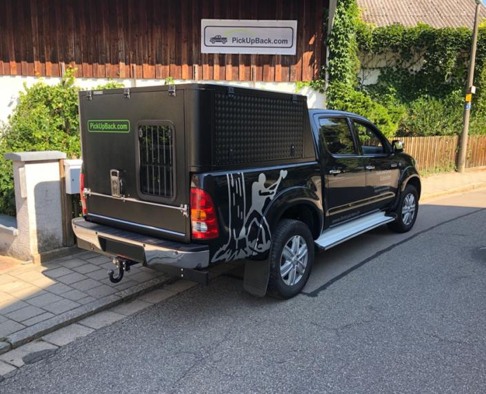 VW Amarok Hardtop für Hund