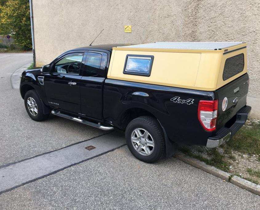 Ford-Ranger-Alu-Hardtop-pulverbeschichtet-gelb