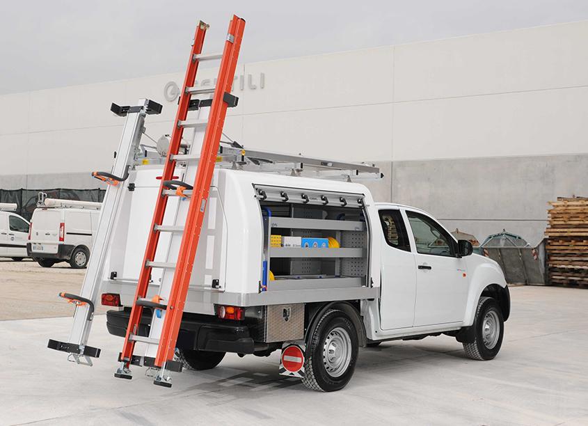 Leiterhalterung Leiterlift Pickup