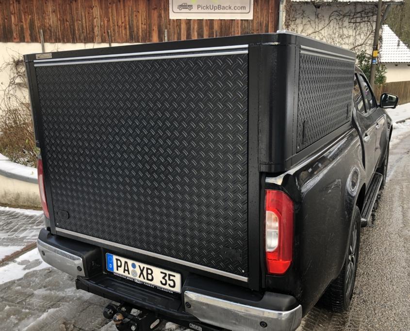 Mercedes X-Klasse Hardtop große Heckklappe