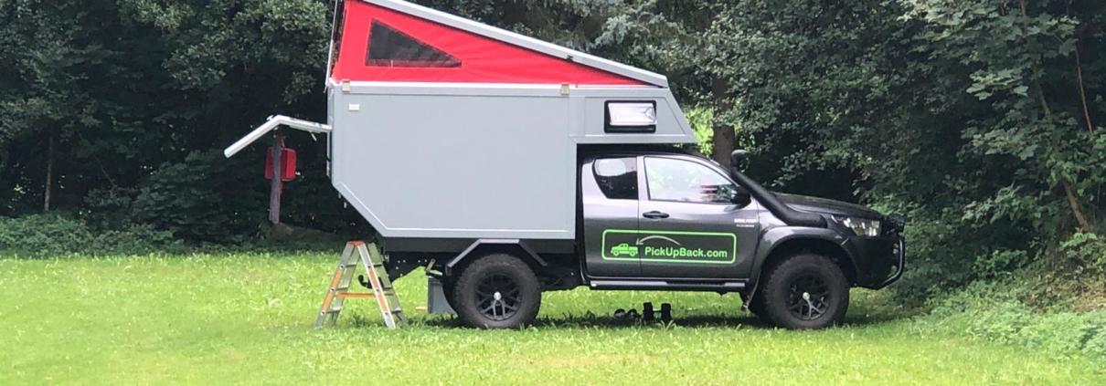 Toyota Hilux Wohnkabine Expeditionsfahrzeug Arctic Trucks